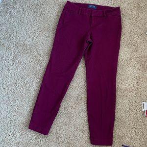 Old navy pixie cut pants size 2